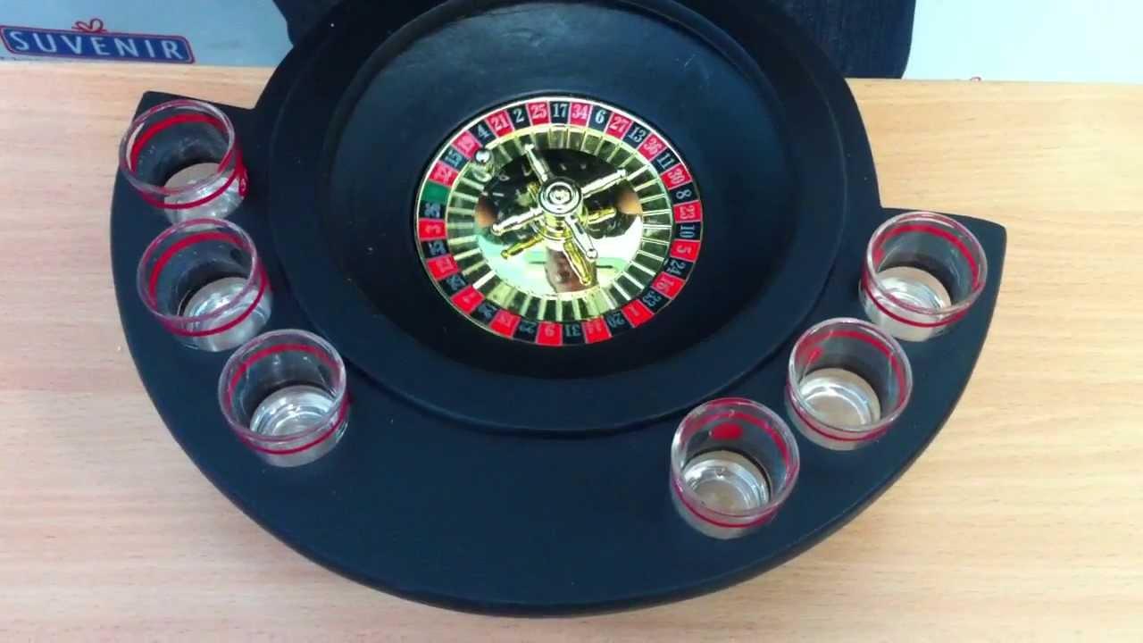 Пьяная рулетка с рюмками на 16 рюмок в подарок - YouTube