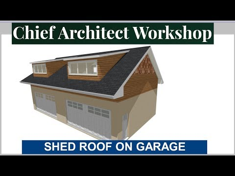 HOW TO BUILD A SHED DORMER WITH THE AUTO FLOATING DORMER TOOL