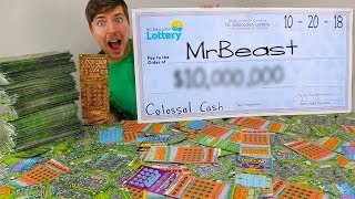 I Spent $50,000 On Lottery Tickets And Won ____