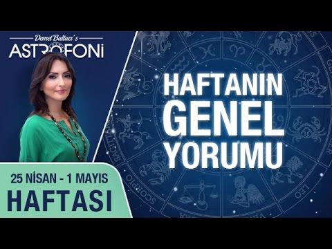 Haftalık Astroloji Ve Burç Yorumu Videosu 25 Nisan - 01 Mayıs 2016