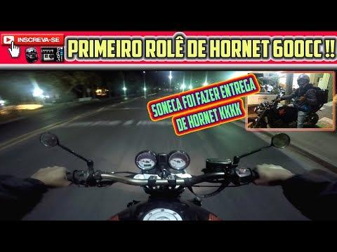 PRIMEIRO ROLE HORNET VIDEO DE HORNET 600 EM POCOS DE CALDAS  HORNET CARBURADA HORNET 600 SO O CANO