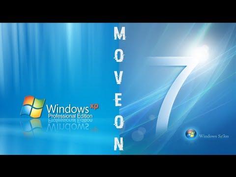 Cara Move On Dari Windows Xp Sp3 Ke Windows 7 64bit Youtube