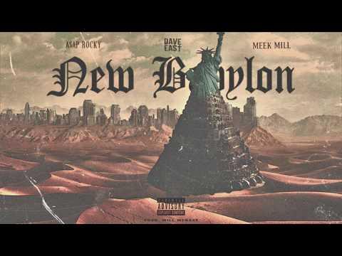 "Meek Mill - ""New Babylon"" ft. Asap Rocky, Dave East (Prod. Will Menace)"