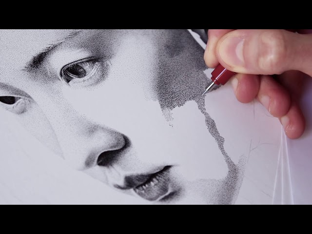 'TORO' – 2.5 Million Dots – Speed Drawing