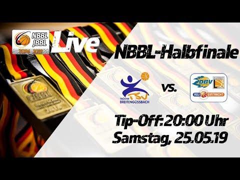 NBBL-Halbfinale TSV Tröster Breitengüßbach -  AB Baskets