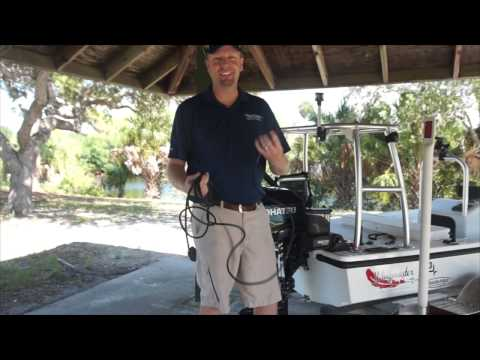 Power-Pole Micro Anchor Installation on Small Skiff