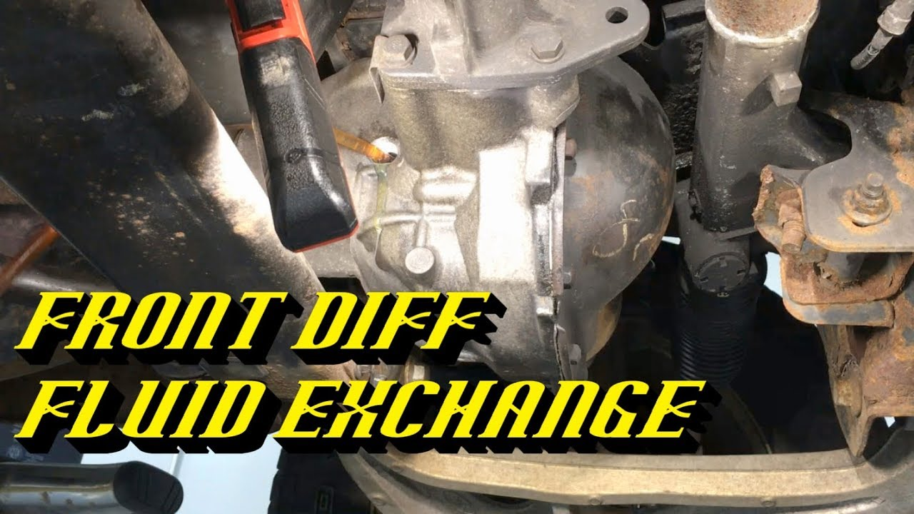 small resolution of ford front differential maintenance specialized drain and fill procedure