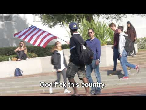 Ami on the Loose: Berkeley Students React to US Flag