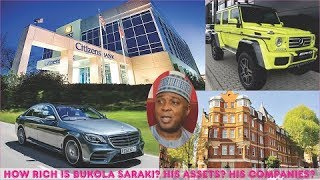 How Rich is Bukola Saraki? ► All Saraki's Mansion, Cars, Companies, Real Estate & Luxuries