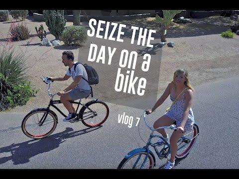 SEIZE THE DAY on a bike   Vlog 007