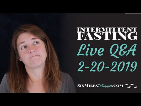 live-q&a-beginner-intermittent-fasting-/-omad-weight-loss