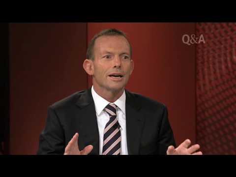 Tony Abbott joins Q&A