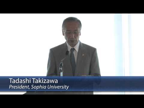 Sophia University Centenary: Welcoming Remarks and Student Reports