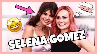 I MET SELENA GOMEZ! + Giveaway!