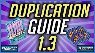 TERRARIA SOLO DUPLICATION GLITCH PS4 1.3 2019 HOW TO DUPLICATE TERRARIA 1.3 CONSOLE DUPLICATION