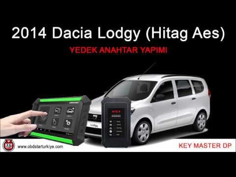 Dacia 2014  Lodgy (PCF 7961M Hitag Aes) - Yedek Anahtar - Key Master DP