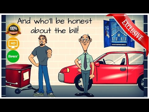 Business Video Templates - Auto Repair Industry -template based animated videos