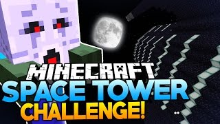 Minecraft | 16 MINI-GAMES AND 4 BOSSES! | Space Tower Challenge