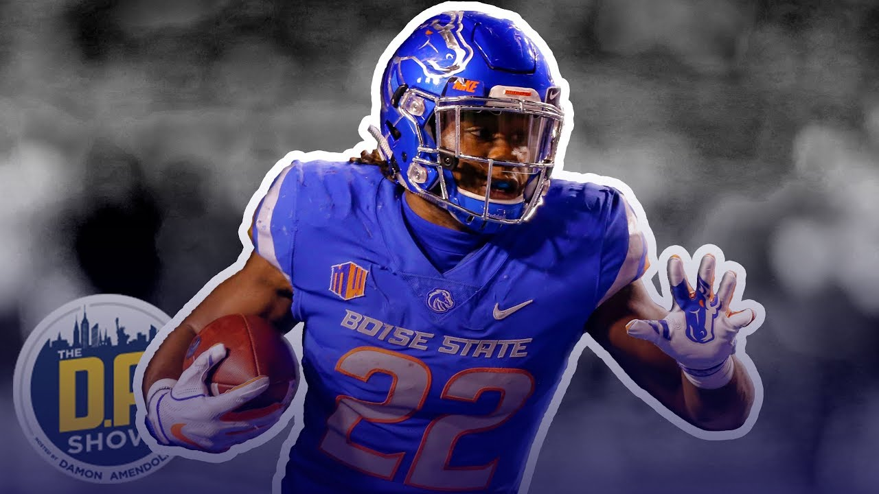 sneakers for cheap 5a0be 72988 Boise State Running Back Alexander Mattison I The D.A. Show