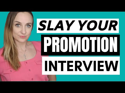 Interview For Promotion Tips (Get Promoted At Work)