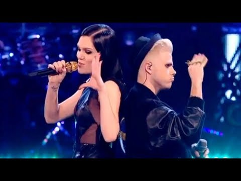 Jessie J and Vince duet Nobodys Perfect  The Voice UK   Final  BBC One