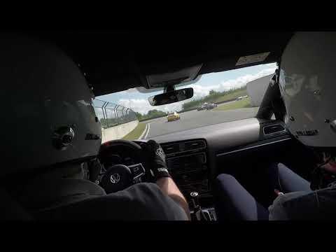 Peter Dyrelund in VW Golf VII GTI Clubsport S on Bilster Berg