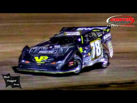 Late Model Main At Canyon Speedway Park September 24th 2016