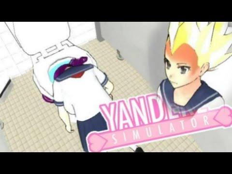 DROWNING GIRLS IN THE TOILET!? SUPER SAIYANS!?   Yandere Simulator