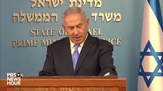 WATCH: Israeli PM Netanyahu praises Trump decision to leave Iran nuclear deal