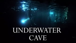 I THOUGHT I WAS GOING TO DIE IN UNDERWATER CAVE!