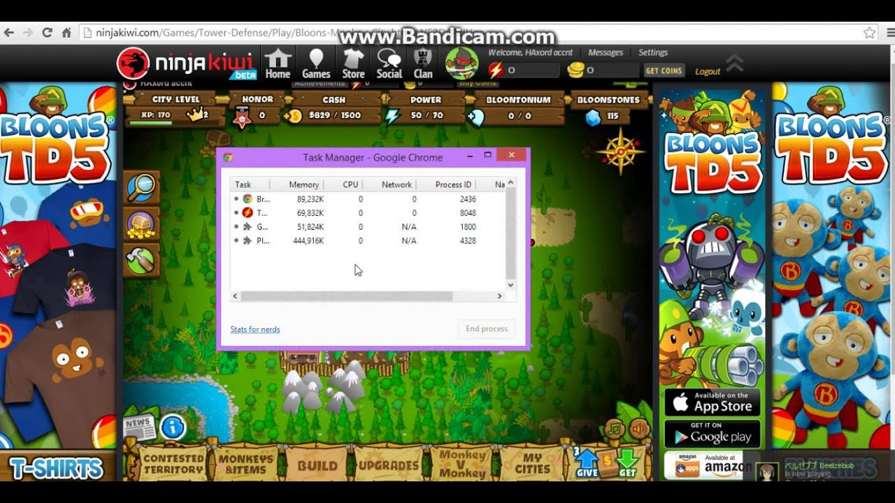Kongregate bloons monkey - How To Hack Your Bloonstones In Bloons Monkey City Non Patched October 2016 Youtube