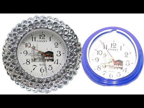 wall decoration idea - Diy wall clock # Room Decoration Idea