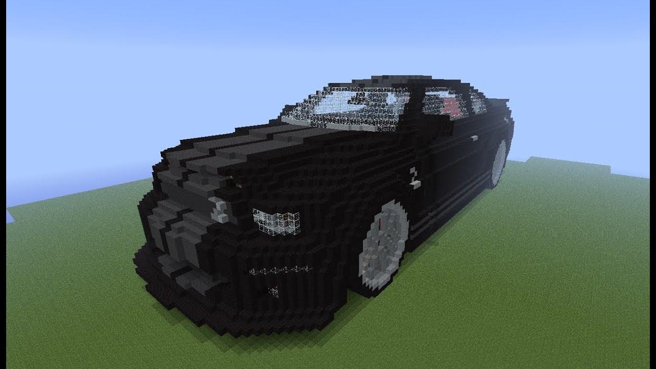 Knight Rider 2008 Shelby Gt500kr K I T T Minecraft