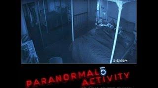 Паранормальное явление 5:  Призраки в 3D (2015). Трейлер на русском HD.