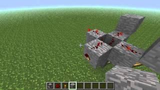Как сделать пулемёт из раздатчика в майнкрафт.(В этом видео я покажу,как сделать пулемёт из раздатчика и устрою мини-дискотеку., 2012-09-29T16:07:30.000Z)