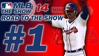 MLB 14 The Show:  Road to the Show Ep.1