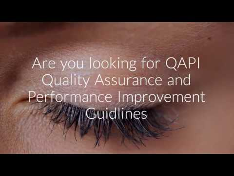 CMS QAPI Quality Assurance and Performance Improvement SNF Nursing Home QAPI