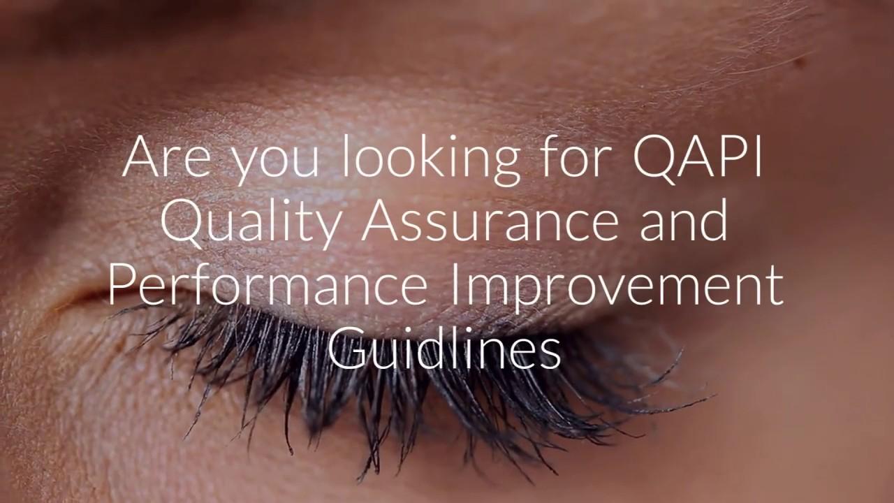 CMS QAPI Quality Assurance and Performance Improvement SNF Nursing