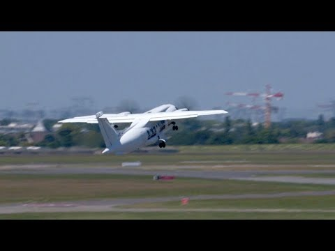 Dornier 328-110 Turboprop Airliner Flying Display at Paris 2017 – AINtv Express