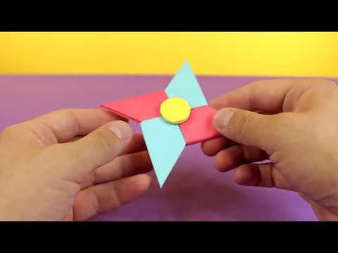 Hand Spinner en Papier Origami Tutoriel France ✅