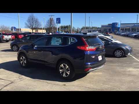 2018 Honda CRV Obsidian Blue Pearl