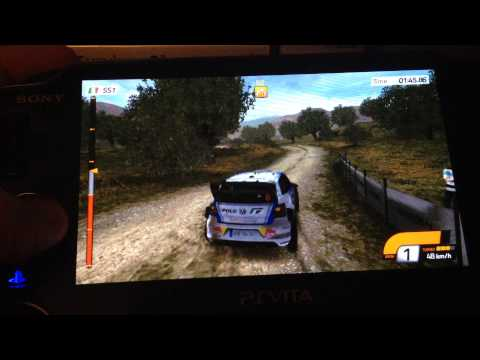 PS Vita Demo, WRC: FIA World Rally Championship 4