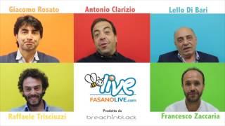 FASANOLIVE - Amministrative 2016 - Faccia a Faccia candidati Sindaco