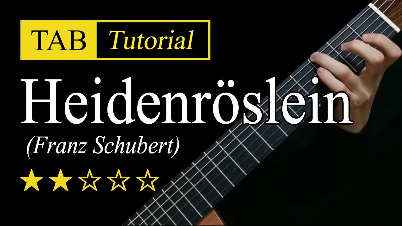 Heidenroslein - Guitar Lesson + TAB