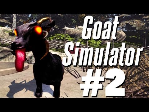SUMMON THE DEMON GOAT | Goat Simulator -...