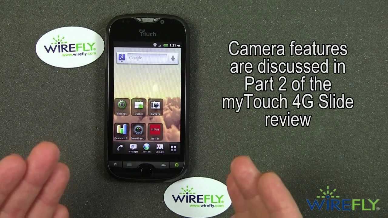 T-Mobile myTouch 4G Slide Review - Part 1 - YouTube