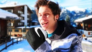 Snowy day with Rubius