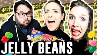 JELLY BEANS CHALLENGE | Andrea Compton ft. BFFs