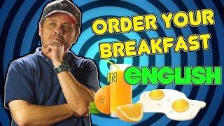 🍳 Cómo pedir EL DESAYUNO EN INGLÉS! Si desayunas en U.S.A. tienes que saber esto