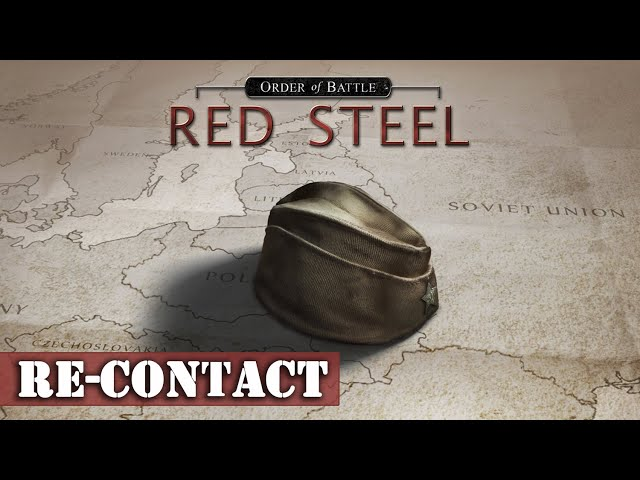 [FR] Order of Battle WW2 - Re-Contact - DLC Red Steel